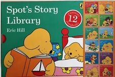 Spot's Story Library 12 Book Set Collection Eric Hill Spot Board Books