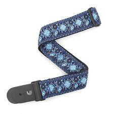 Planet Waves T20W1418 2-Inch Monterey 2 Woven Guitar Strap - Blue