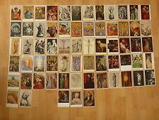 Konvolut Sammlung Lot 65 alte Ansichtskarten Religion Christus Maria Heilige ...