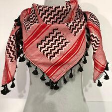 Hirbawi Scarf Arab Shemagh Original Keffiyeh Amal Pink Zahra Brand Cotton Unisex