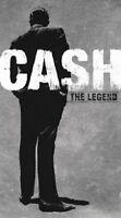"JOHNNY CASH ""THE LEGEND""4 CD NEW! (LONGFORMBOX DVD SIZE)"