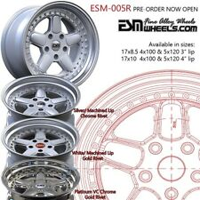 DEEP DISH ALLOY WHEELS SPLIT RIMS STYLE CLASSIC 2 3 PIECE EURO GERMAN STAGGERED