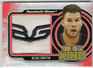 BLAKE GRIFFIN 2020-21 President's Choice Game-Used ONE OF A KIND SNEAKER  #1/1