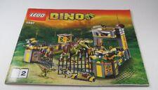 LEGO® Bauanleitung Instruction Nr. 5887 Dino™ Dinosaurier Station Heft 2