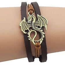 Dragon Daenerys Targaryen - Game Of Thrones  Leather Bracelet
