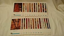 1961 Ed-U-Cards Of Nature Cards 28-54 Stones Rocks Minerals