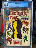 Fantastic Four #67 - CGC 6.5 (White) - First HIM - Marvel