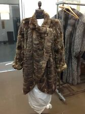 NATURAL RUSSIAN SABLE FUR COAT COCOON STYLE MINT BEVERLY HILLS SOCIALITES CLOSET