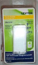 NEW LEVITON TOUCH DIMMER Light Switch White Almond 3-WAY Decora Locator TTI06