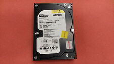 "WD2000BB-22KEA0 Western Digital 200GB 3.5"" IDE Hard drive tested working wiped"