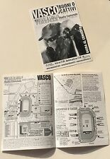 VASCO ROSSI LOCANDINA TOUR 2004 FIRENZE STADIO COMUNALE
