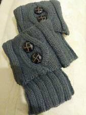 Boot cuffs/ toppers,grey, winter clothing,accessories,knitted, cable knit,boho