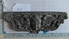 DUTCH FRIESIAN STOEL CLOCK LEAD FRONT UNDER CASE ORNAMENT UNFINISHED 2