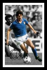 PAOLO ROSSI - ITALY AUTOGRAPHED SIGNED & FRAMED PP POSTER PHOTO