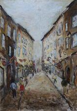 Öl-Gemälde alt antik Impressionismus Expressionismus Stadt Salzburg Österreich