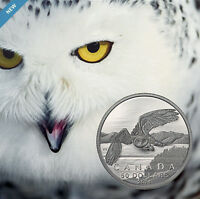 2014 Canada $50 Snowy Owl .9999 Fine $50 for $50 Silver coin dollar Proof