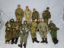 "GI Joe?, Dragon?, 21st century? Assorted Lot 1/6 Figures 12"" U.S. soldiers?"