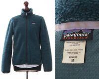Women's PATAGONIA Synchilla Fleece Jacket Deep Pile Green Size M