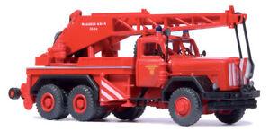 Preiser 35033 HO Magirus Kranwagen KW 16 250D 25 A