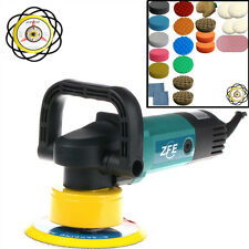 ZFE 230V 900W Dual Action Machine Car Polisher Polishing Pad /Sander /Buffer Set