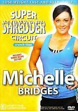 MICHELLE BRIDGES: CRUNCH TIME - SUPER SHREDDER CIRCUIT (DVD) R-4, LIKE NEW