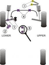 Powerflex Bush Poly For VW Passat Front Upper Arm To Chassis Bush