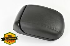 2011-2015 Chevy Cruze Center Console Lid Black Leather Armrest Extending Oem (Fits: Chevrolet)