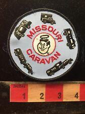 Vtg Missouri RV CAMPER Patch - Missouri Caravan 70XX