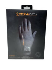 Intellinetix Wearable Vibration Therapy Glove Pain Relief for Hands - Size M