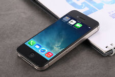 UNLOCKED APPLE iPHONE 4 SMARTPHONE MOBILE PHONE iOS GOOD WORKING CONDITION