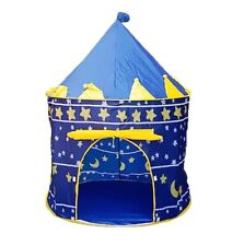 Kids Pop-up (Castle Theme) Play Tent (Blue) USA eBay Store - Ships From NY