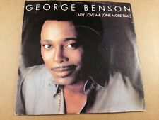 """George Benson : Lady Love Me (One more Time) : Vintage 7"""" Vinyl Single from 1983"""