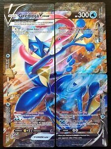 Greninja V-Union 4 Card Set - English - Pokemon - Black Star Promo