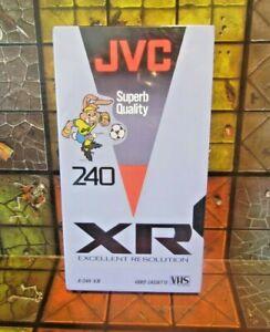 JVC E-240 XR Excellent Resolution VHS Video Cassette Tape - New & Sealed