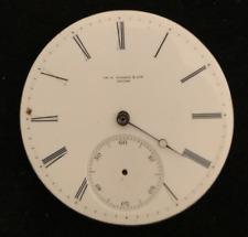 Vintage CH P Tissot & Son Locle Pocket Watch Movement Parts 38.76mm Swiss