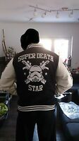 STAR Wars Adidas Neu!!!Super Death Star Stormtrooper Collegejacke Sammlerzustand