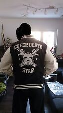 Adidas  STAR WARS Super Death Star Stormtrooper Varsity Jacket NeuSammlerzustand