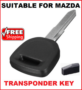 Transponder car key blank Suitable for  Mazda CX7 CX9 RX8 MX5 MAZDA 2 3 6