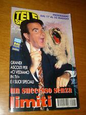 TELESETTE 1998/20=PAOLO LIMITI=SELLERETTE=IVANO FOSSATI=ANDREA GIORDANA=GUIDA TV