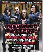 Revolver Magazine Judas Priest Heaven & Hell Motorhead September 2008 051419nonr