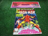 vtg invincible Iron Man 141 Marvel Comic book 1st print hi res pics
