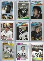 New Orleans Saints Vintage Lot (35) Different w/ Rookies Muncie Manning Swilling