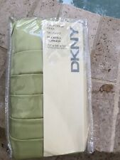 New Dkny Pleated Corner Cal King Bedskirt Lime $69 Retail