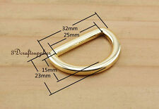 d ring d-rings purse ring alloying gold 25 mm 1 inch 10pcs U146