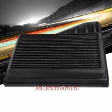 Reusable Black High Flow Drop-In Air Filter For Mustang 10 4.6L/11-14 3.7/5.0L