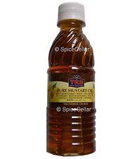 TRS Mustard Oil - 250ml Bottle - Ideal for Hair and Skin
