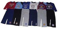 Boys Pyjamas Official Mixed Football Teams 4-12 Years Long