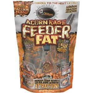 WILDGAME ACORN RAGE FEEDER FAT 5 LBS.