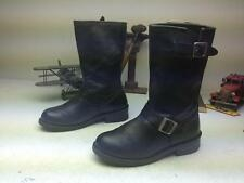 ROAD WORN X ELEMENT X BLACK LEATHER MOTORCYCLE ENGINEER BOOTS SIZE 9.5 D
