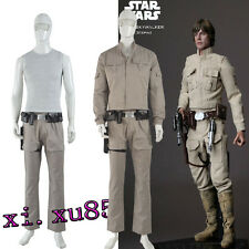 HOT Star Wars Luke Skywalker Cosplay Costume Men's Outfit Custom Made Any Size